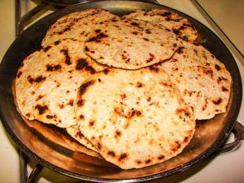 Pol Coconut Roti Short Eat Snack Sri Lanka 4