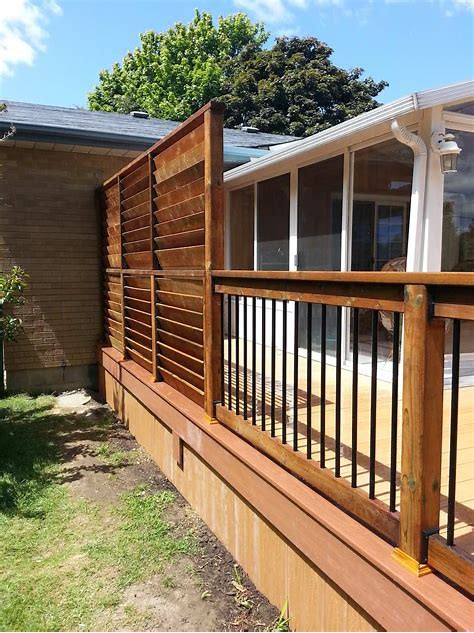 60 Best Deck Railing Styles Ideas and Installation Guide ...