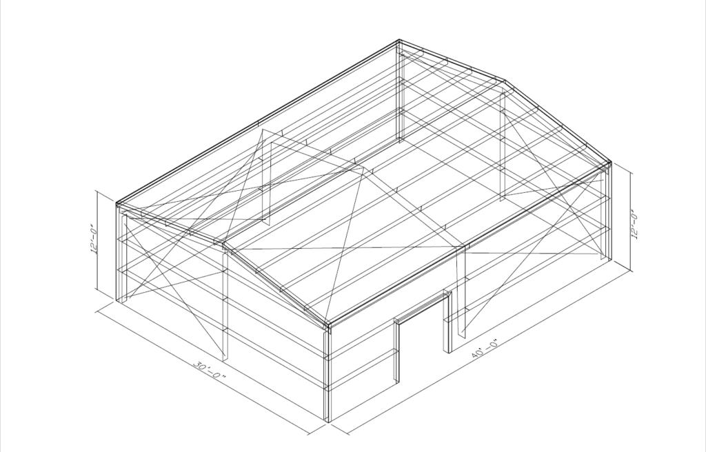 Metal Building Blueprints