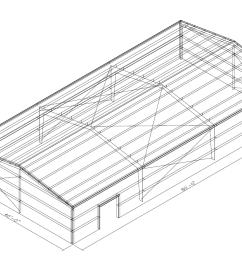 40 x 80 metal building prefabricated 40 x 80 steel building [ 1399 x 900 Pixel ]