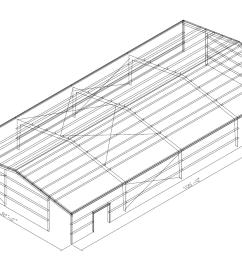steel pole building open diagram [ 1394 x 895 Pixel ]