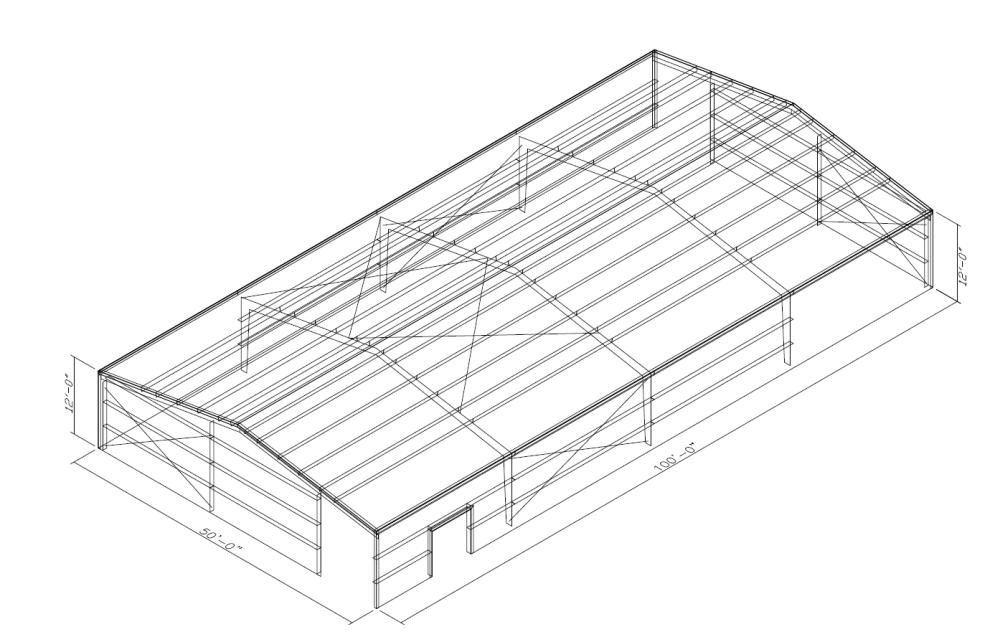 medium resolution of steel pole building open diagram