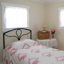Staged rental cottage in New Bedford MA