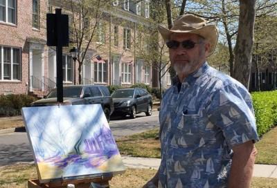 Mick Grochowski, Plein Air Artist, Norfolk, Virginia