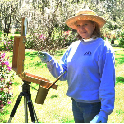 Gale Smith, Plein Air Artist, Wilmington, North Carolina