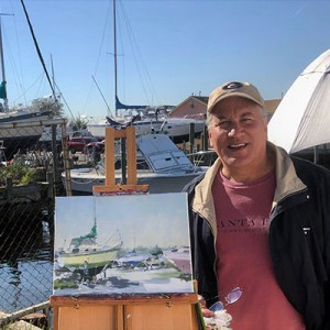 John Myers, plein air painter