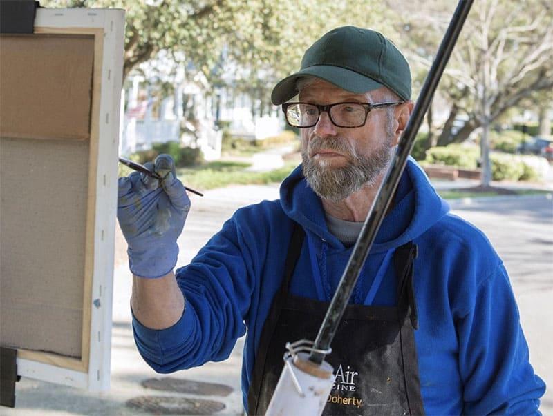 Steve Doherty, Judge & Artist 2021 Coastal VA Plein Air