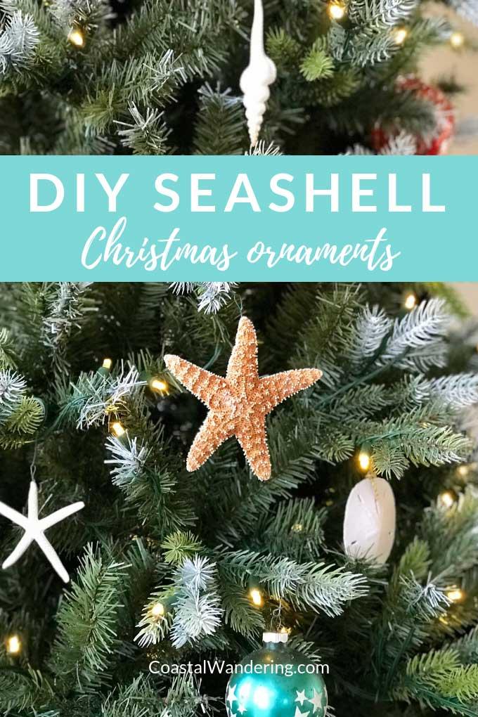 Easy Beach Christmas Ornaments To Make Coastal Wandering