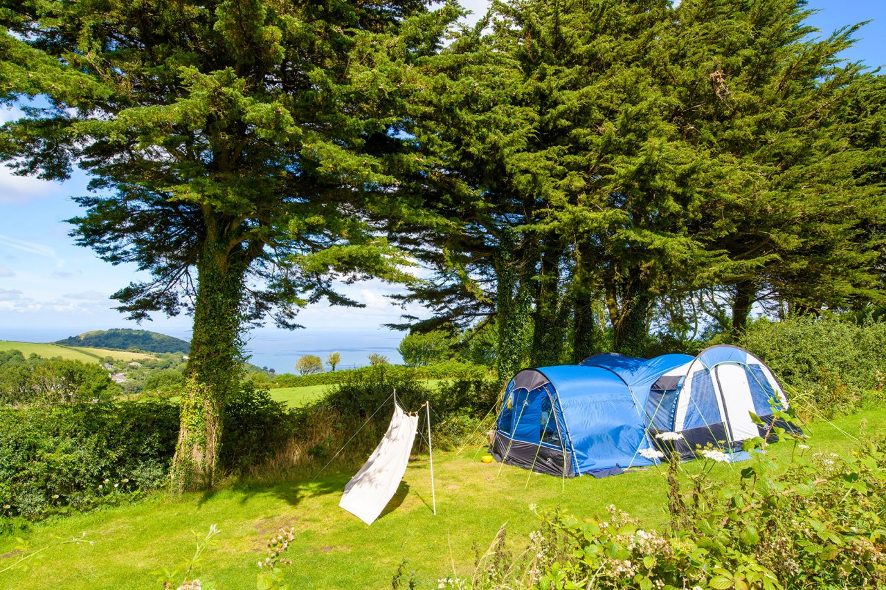 Lynmouth Camping