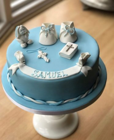 christening cakes and baptism