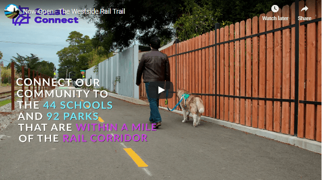 Still Image Preview of Westside Rail Trail Video