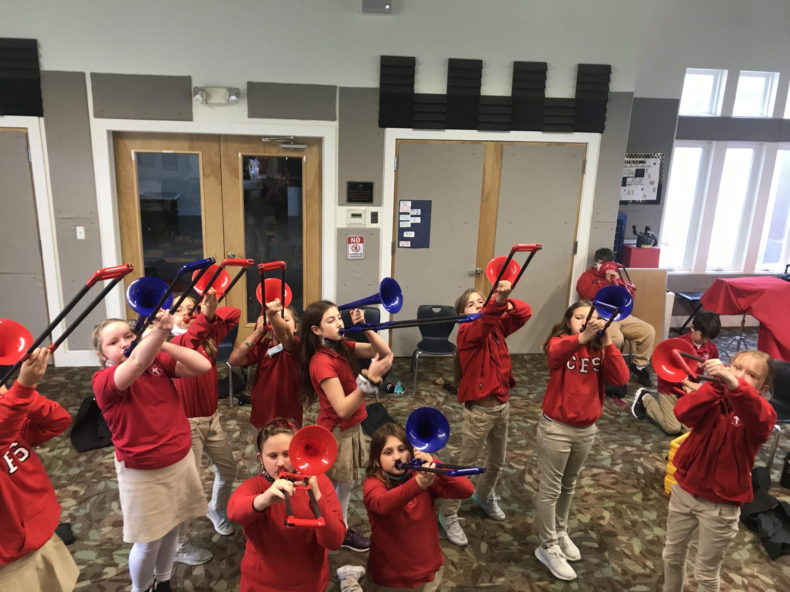 Middle School Band Coast Episcopal School Mississippi