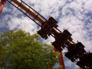 Tatsu Flying Coaster at Six Flags Magic Mountain