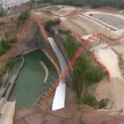 Iron Rattler Test Video - Six Flags Fiesta Texas