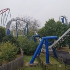 Batwing - Afterburn - Carowinds - Roller Coaster