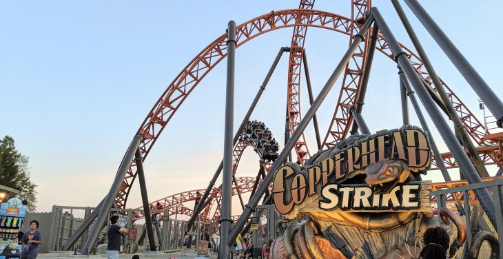 Ride Review: Copperhead Strike