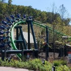 Dragonflier Coaster - Dollywood - Turn Fountains