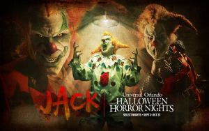 UNIVERSAL ORLANDO RESORT REVEALS INFAMOUS RETURN OF JACK THE CLOWN TO HALLOWEEN HORROR NIGHTS AND ANNOUNCES SELECT TICKETS ARE ON SALE NOW!
