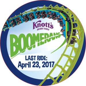 Knott's Berry Farm to Retire Boomerang