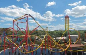 Six Flags Fiesta Texas Announces Wonder Woman Golden Lasso Coaster, World's First RMC Single Rail