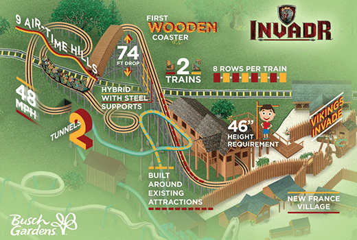 Busch Gardens Williamsburg Releases InvadR POV – Coaster Hub
