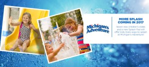 Michigan's Adventure Announces New Kids Slides, Splash Pad for 2017