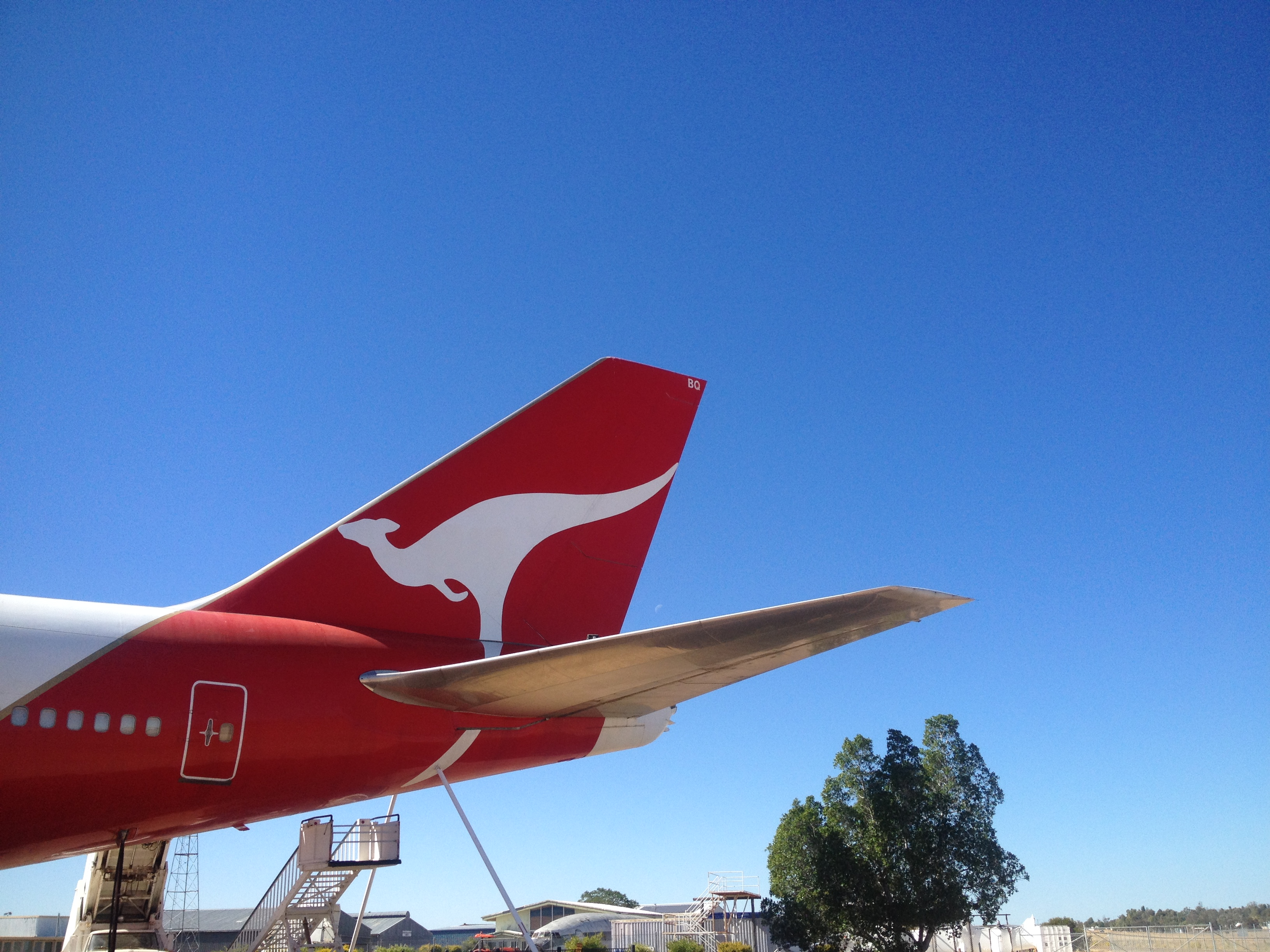 The signature Qantas tail