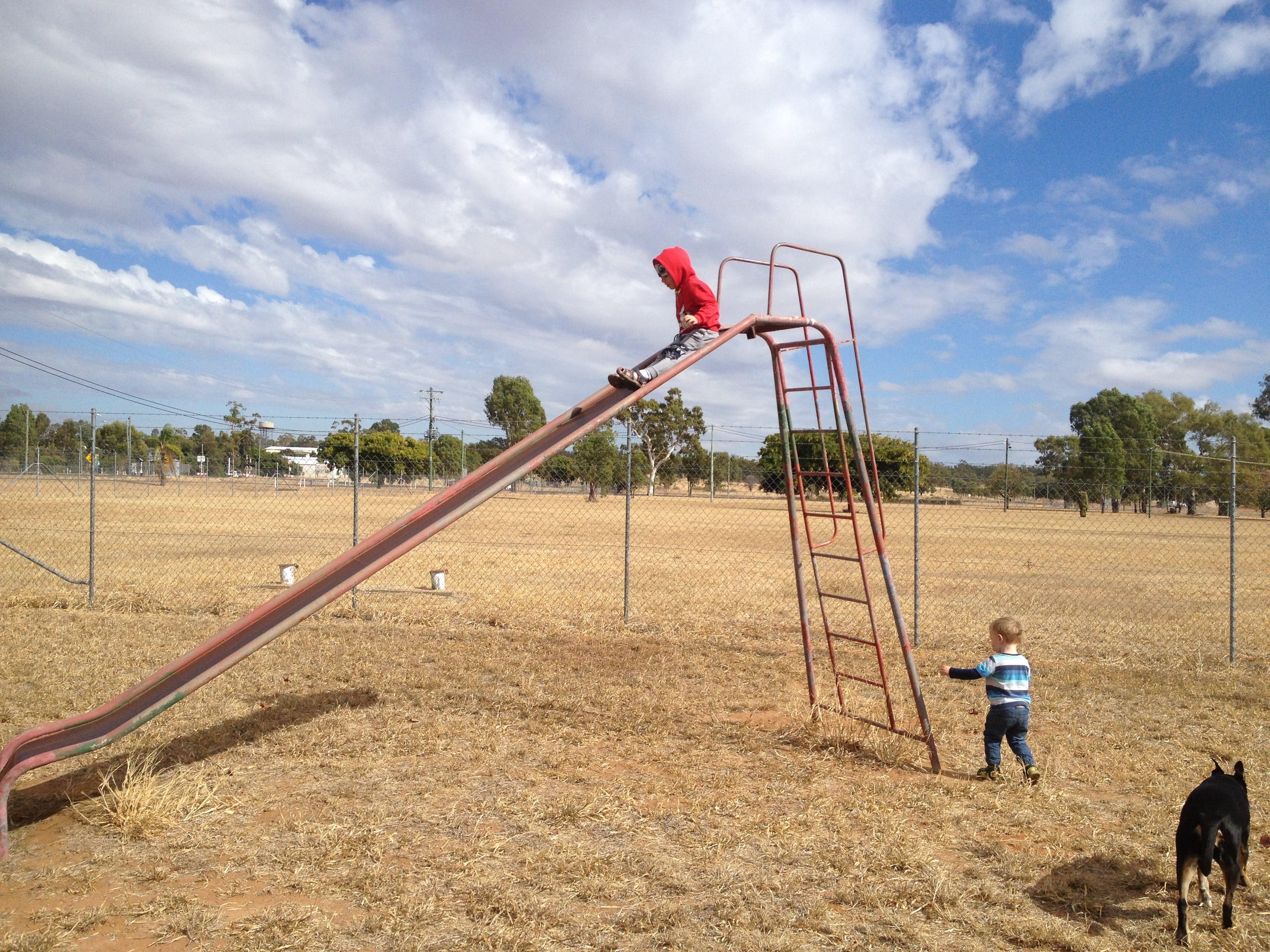 An old school playground in Australia