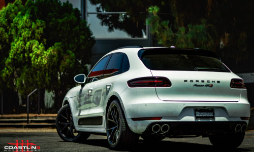 Porsche Macan GTS with Lowering Links