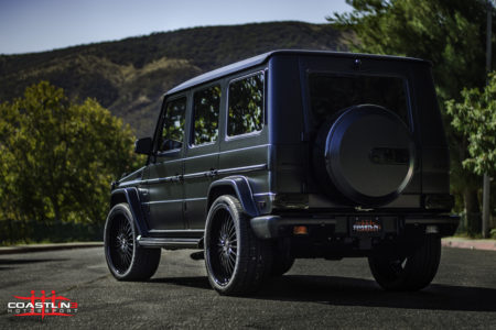 Mercedes Benz G63 w/ Stage 4 Coastline Blackout