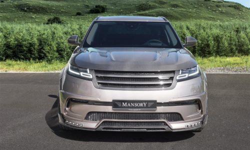 Mansory Velar Program Front