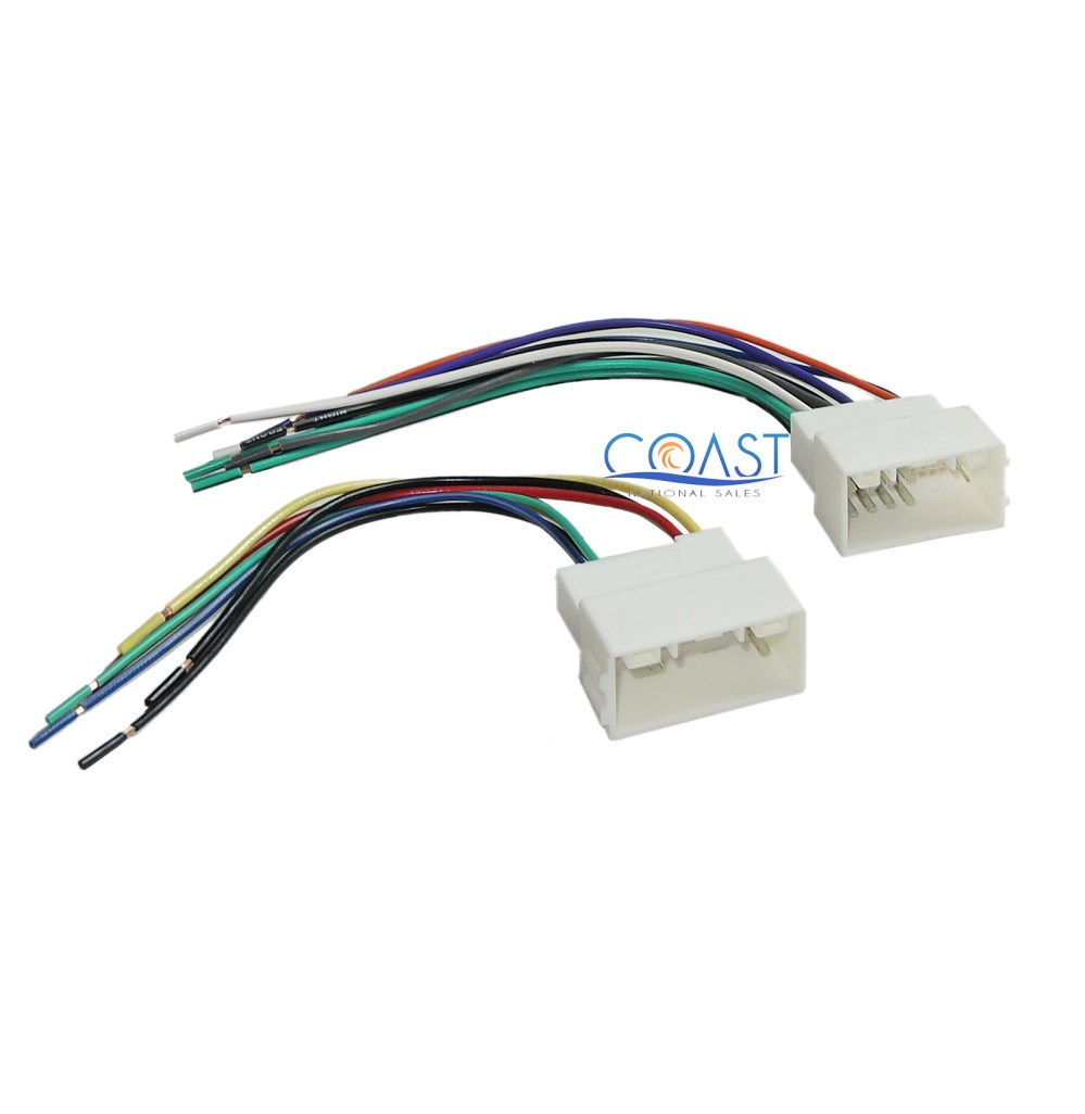 medium resolution of car radio stereo install aftermarket wiring harness for 2010 2012 hyundai kia
