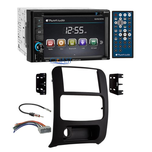 small resolution of planet audio dvd bluetooth stereo 2 din dash kit harness for 02 07 jeep liberty