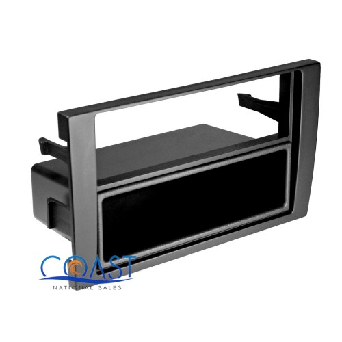 small resolution of car radio stereo single din install dash kit pocket for 2002 2008 audi a4