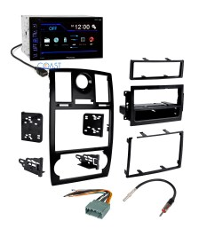 pioneer car radio stereo double din dash kit harness for 2005 07 chrysler 300 [ 2880 x 2880 Pixel ]