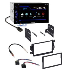 details about pioneer car radio stereo dash kit harness antenna for 2007 11 chevrolet aveo [ 2131 x 2131 Pixel ]