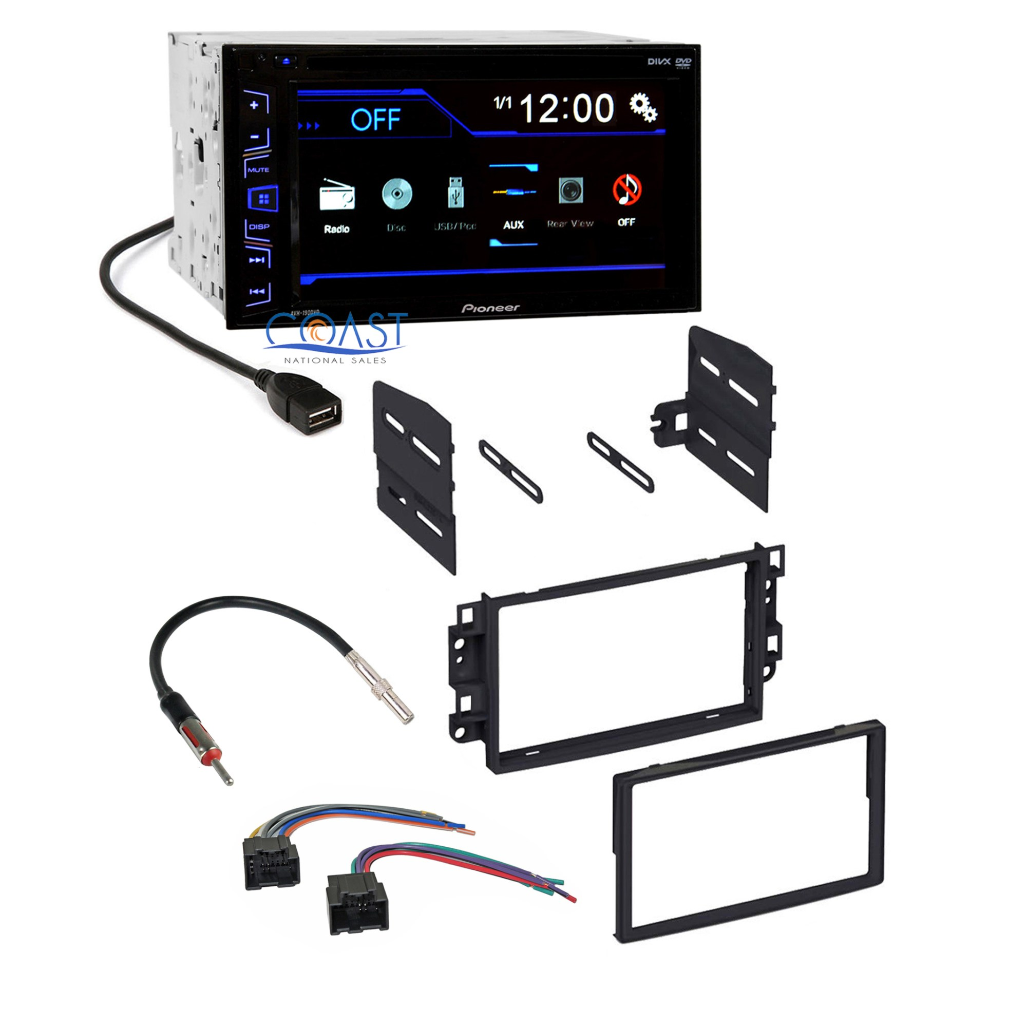 hight resolution of details about pioneer car radio stereo dash kit harness antenna for 2007 11 chevrolet aveo