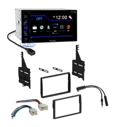 pioneer car radio stereo dash kit wire harness antenna for 05 06 nissan altima [ 2318 x 2318 Pixel ]