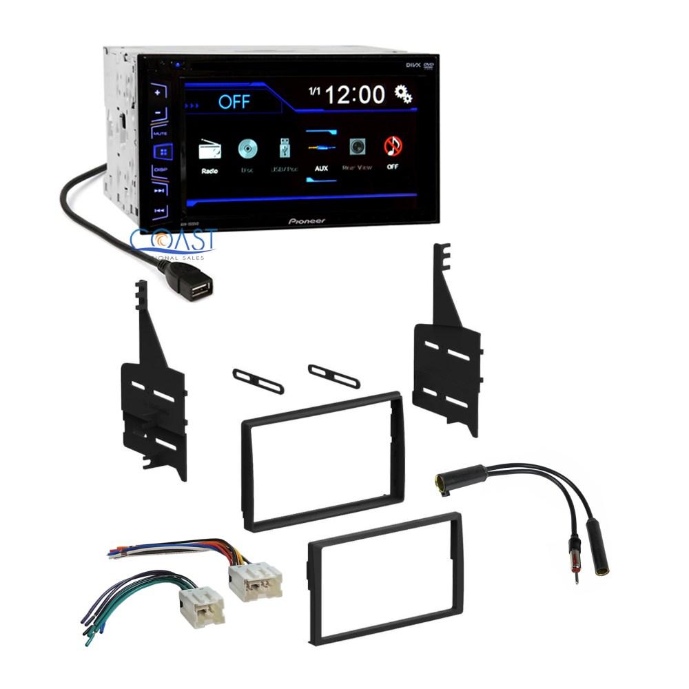 medium resolution of pioneer car radio stereo dash kit wire harness antenna for 05 06 nissan altima