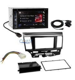 pioneer 2016 car radio stereo dash kit harness for 2007 13 mitsubishi lancer [ 1412 x 1412 Pixel ]