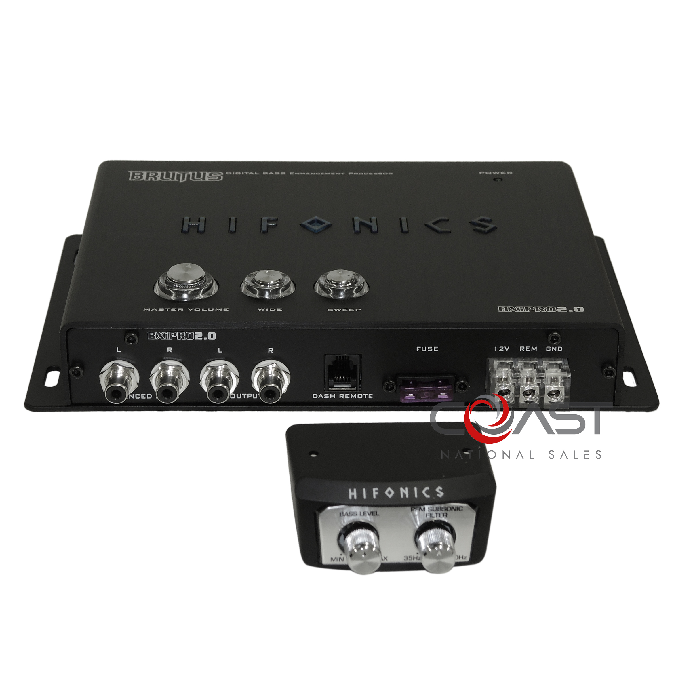 Digital Bass Enhancement Processor With Noisereduction Circuit