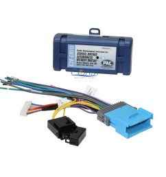 car radio stereo replacement wire harness interface for 04 up chevrolet pontiac [ 2550 x 2550 Pixel ]
