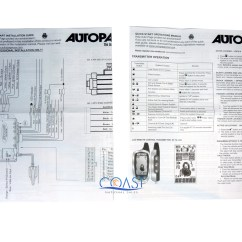 Autopage Alarm Wiring Diagram 1992 Ford F 150 C3 Rs730 Rs 625
