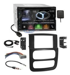 kenwood dvd usb gps carplay stereo dash kit harness for 02 05 dodge dodge ram wiring  [ 2160 x 2160 Pixel ]
