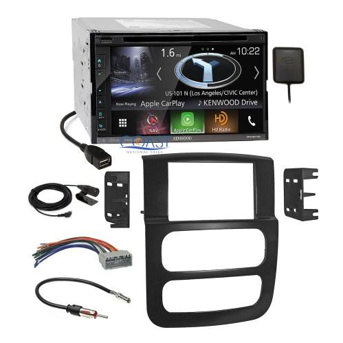 small resolution of kenwood dvd usb gps carplay stereo dash kit harness for 02 05 dodge dodge ram wiring