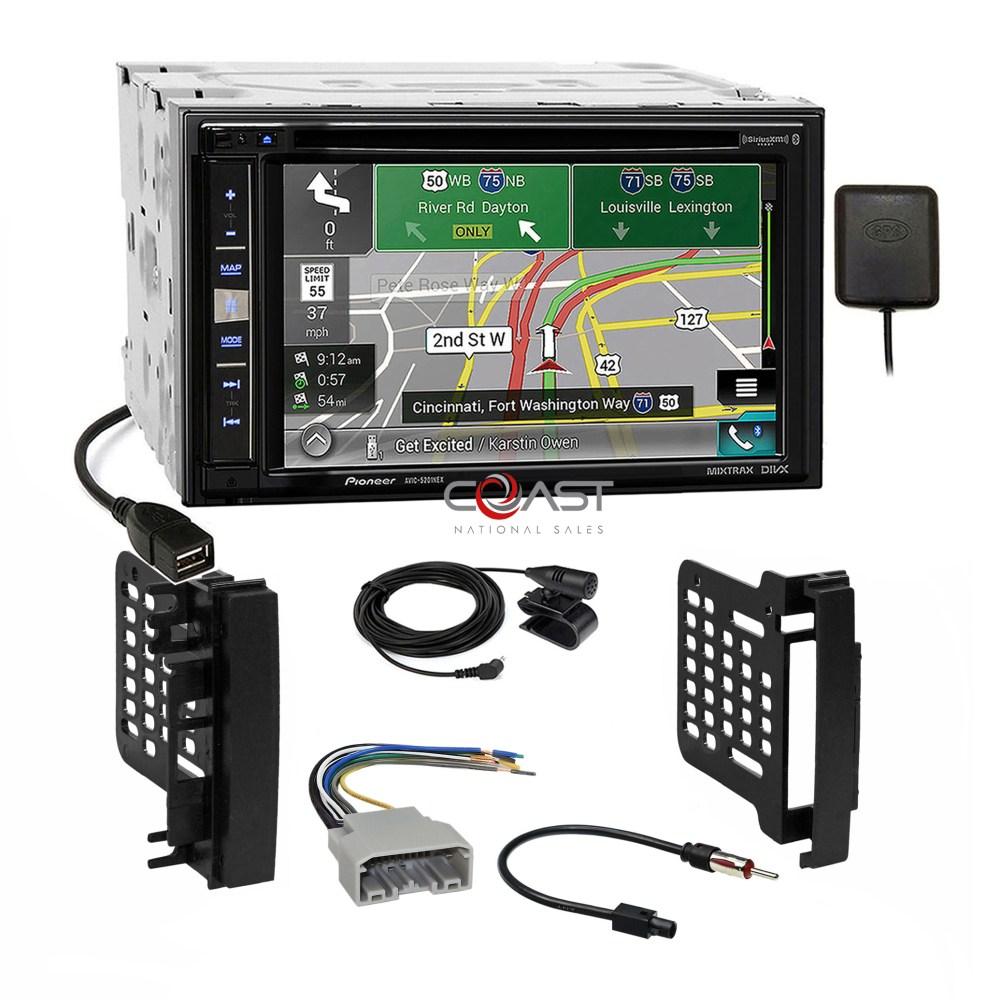 medium resolution of pioneer gps carplay sirius stereo dash kit harness for 07 chrysler chrysler dodge jeep radio replacement wiring harness no amp ebay