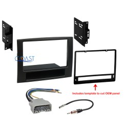 car radio stereo double din dash kit wire harness for 2006 2008 dodge ram [ 1368 x 1368 Pixel ]