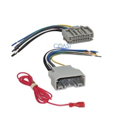 car radio stereo wire harness combo for 2007 up chrysler dodge jeep mitsubishi [ 2400 x 2400 Pixel ]