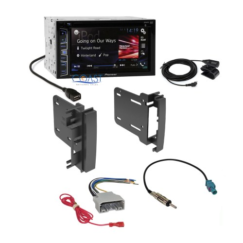small resolution of  07 dodge stereo wiring pioneer 2016 radio stereo din dash kit harness for 2007