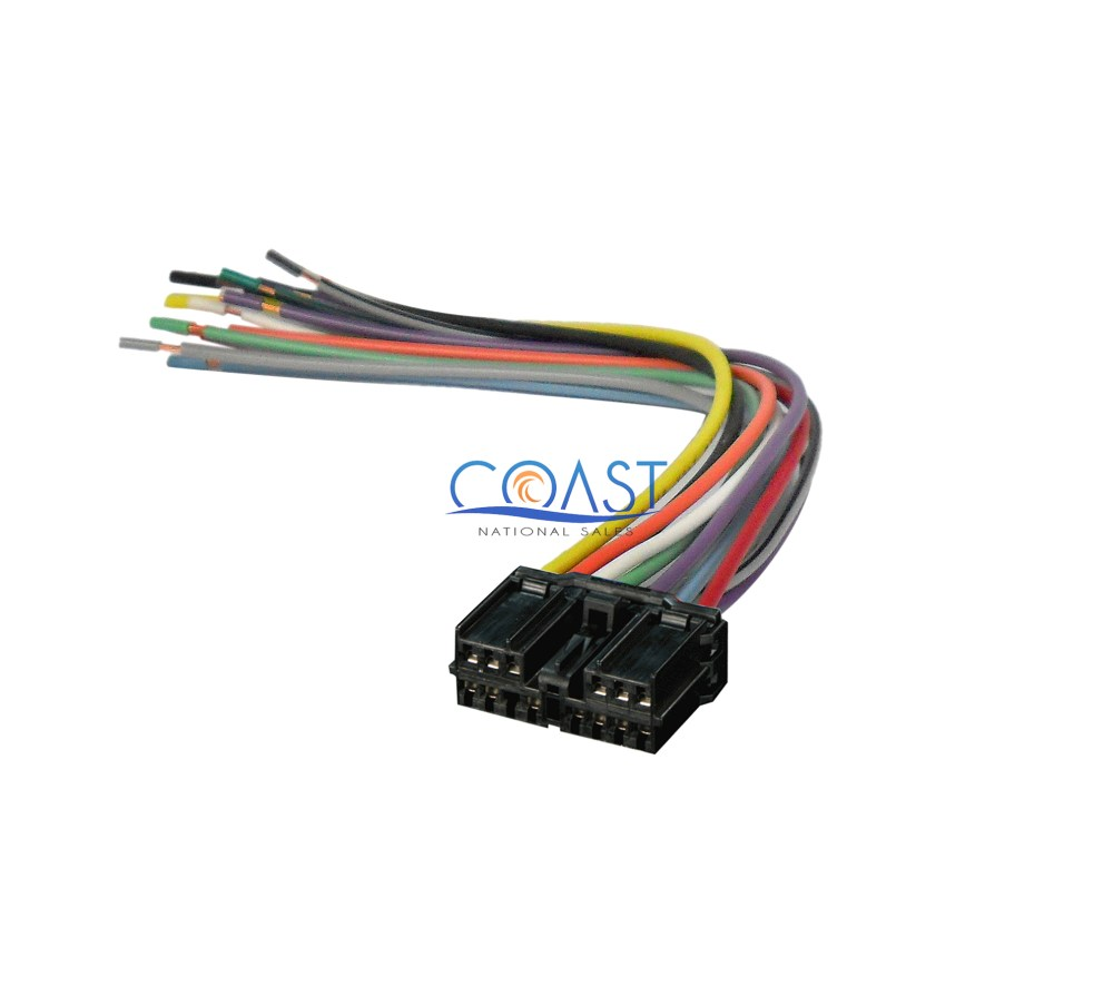 medium resolution of car stereo wiring harness for factory radio for 1992 up mitsubishi galant stereo wiring harness mitsubishi